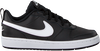 NIKE Baskets basses COURT BOROUGH LOW 2 (GS) en noir  - small