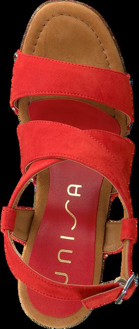 UNISA Sandales TERRAT en rouge  - large