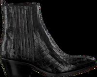 Zwarte NOTRE-V Enkellaarsjes 05A-201  - medium