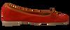 FRED DE LA BRETONIERE Ballerines 101007D en rouge - small