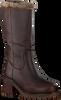 Bruine VERTON Hoge laarzen BERLIJN  - small