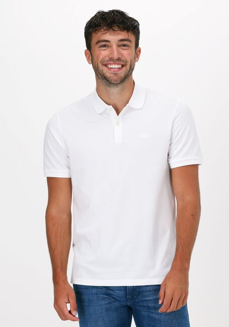 Witte BOSS Polo PALLAS 10108581 01 - large