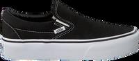 Zwarte VANS Sneakers CLASSIC SLIP-ON PLATFORM - medium
