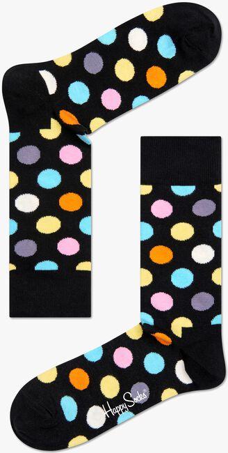 HAPPY SOCKS Chaussettes BIG DOT en noir - large