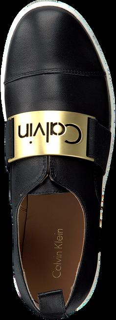 Zwarte CALVIN KLEIN Slip-on sneakers  E5681  - large