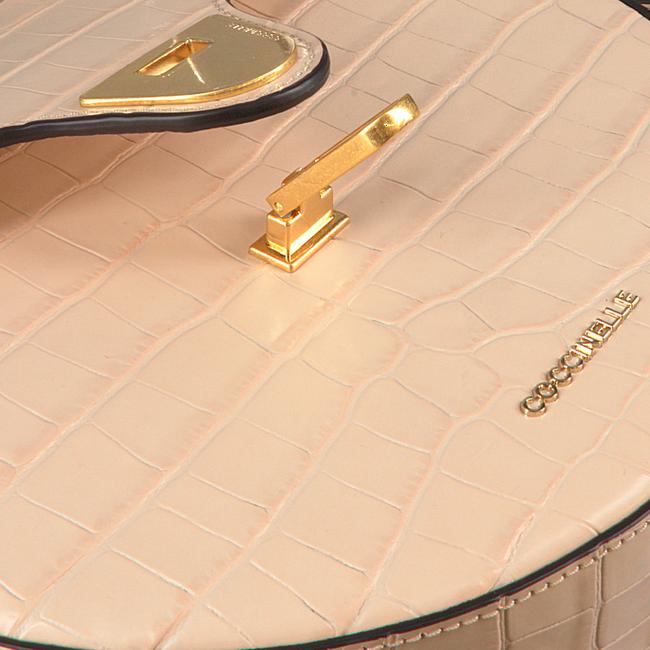 COCCINELLE Sac bandoulière BEAT CROCO 1501 en beige  - large