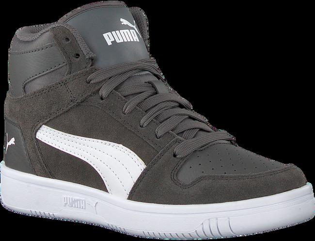 Grijze PUMA Sneakers REBOUND LAYUP SD JR  - large