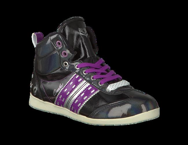Zwarte QUICK Sneakers QUEBEC MID JR LACE 4  - large