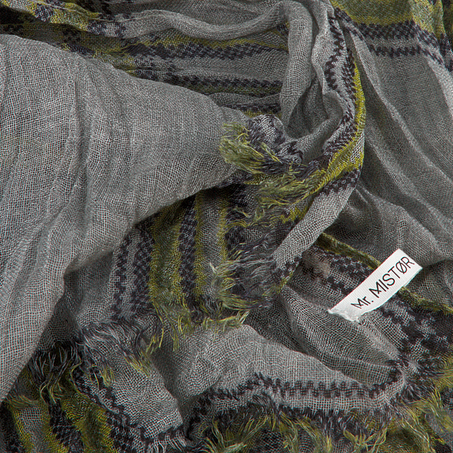 ABOUT ACCESSORIES Foulard 384.11.700.0 en gris  - large