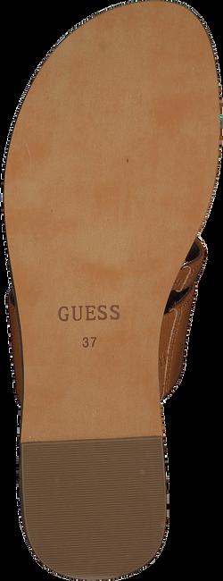 Cognac GUESS Slippers GENERA  - large