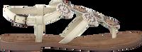 LAZAMANI Sandales 75.607 en blanc  - medium