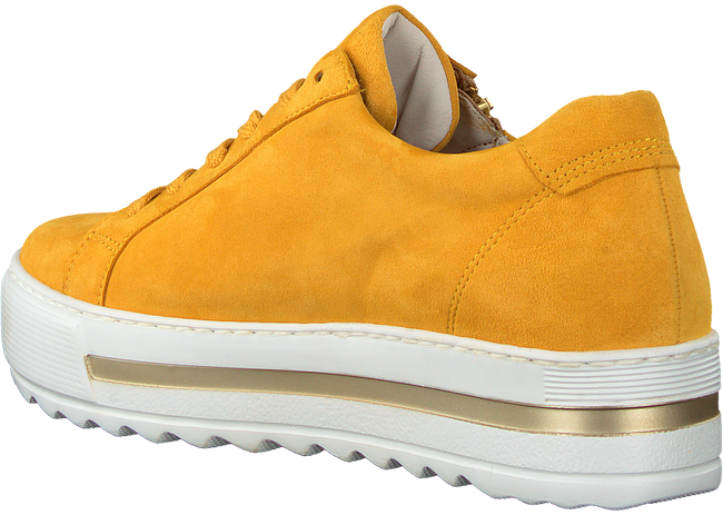 Gele GABOR Lage sneakers 498  - large
