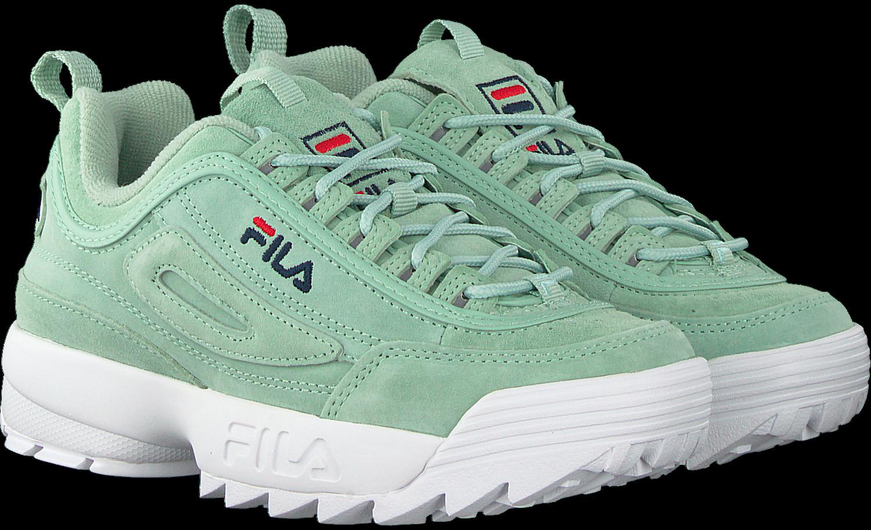 blauwe FILA Sneakers DISRUPTOR S LOW WMN | Omoda