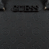 Zwarte GUESS Handtas JANELLE BOX SATCHEL  - small
