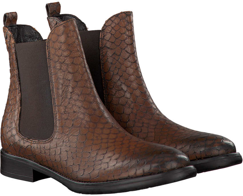 Cognac OMODA Chelsea boots 051.903  - larger