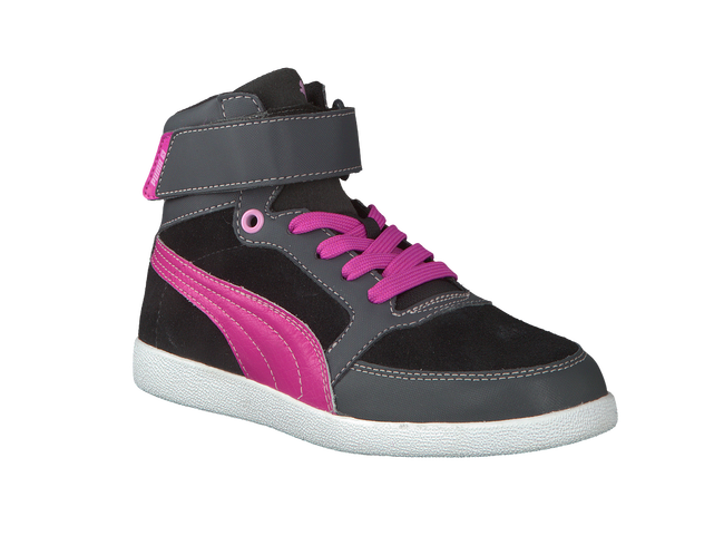 PUMA Baskets SKYLAA JR en gris - large