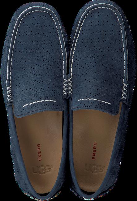 Blue UGG shoe HENRICK STRIPE PERF  - large