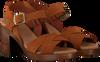 OMODA Sandales 4538 en cognac  - small