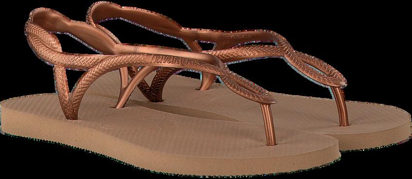 Gouden HAVAIANAS Slippers LUNA  - larger