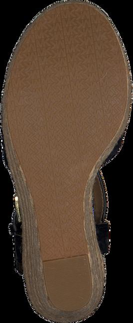 MICHAEL KORS Sandales SUZETTE WEDGE en noir  - large