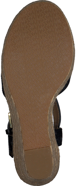 Zwarte MICHAEL KORS Sandalen SUZETTE WEDGE  - large