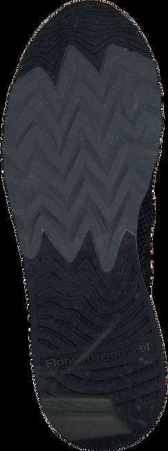 FLORIS VAN BOMMEL Baskets 16393 en noir  - large