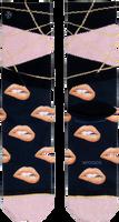 Zwarte XPOOOS Sokken SCARLET  - medium