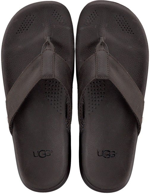 Bruine UGG Slippers TENOCH LUXE  - large