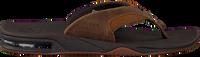 Bruine REEF Slippers FANNING  - medium