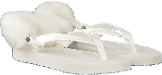 witte UGG Slippers LAALAA  - large