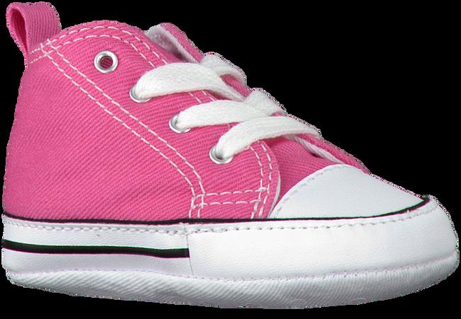 CONVERSE Chaussures bébé FIRST STAR en rose - large