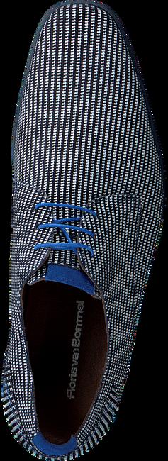 Blauwe FLORIS VAN BOMMEL Veterschoenen 18441  - large