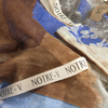 Blauwe NOTRE-V Sjaal INDIA  - small
