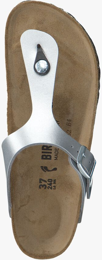 Zilveren BIRKENSTOCK PAPILLIO Slippers GIZEH KIDS  - larger