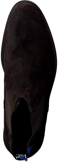 FLORIS VAN BOMMEL Bottines chelsea 10902 en marron  - large
