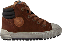 Cognac DEVELAB Hoge sneaker 41609  - medium