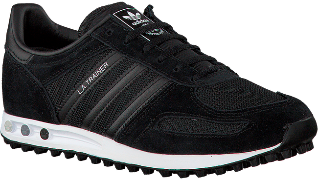 ADIDAS Baskets LA TRAINER J en noir - large