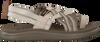 TEVA Sandales W VOYA STRAPPY en blanc  - small