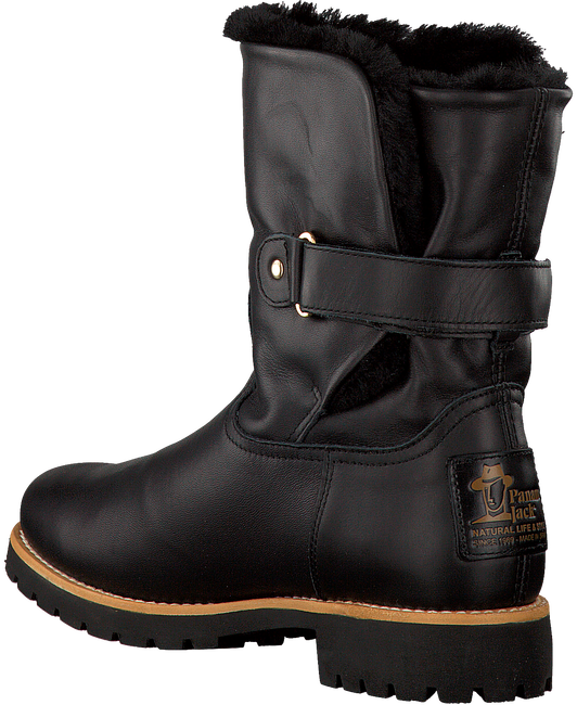 Black PANAMA JACK shoe FELIA IGLOO TRAVELLING  - large