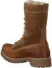 OMODA Bottines à lacets 1260 en marron - small