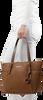 MICHAEL KORS Shopper EW TZ TOTE en cognac - small