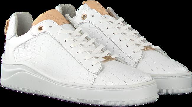 Witte FRED DE LA BRETONIERE Lage sneakers 101010125  - large