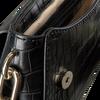 GUESS Sac bandoulière TRIPLE G DEMI SHOULDER BAG en noir  - small