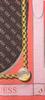 Bruine GUESS Sjaal CAMY PRINTED KEFIAH  - small