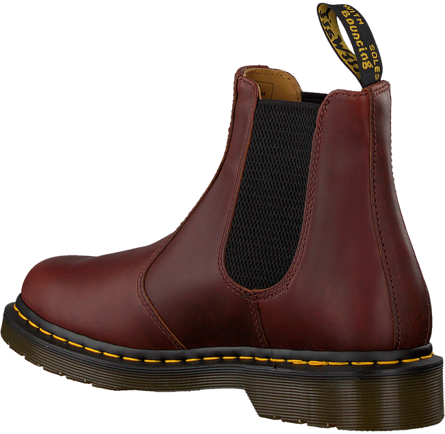 DR MARTENS Bottines chelsea 2976 en marron  - large