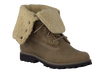 green TIMBERLAND shoe 6'FAUX SHEARLING BOOT  - small