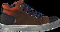 Bruine KOEL4KIDS Hoge sneaker KO896-AL-02  - medium