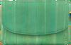 BECKSONDERGAARD Porte-monnaie HANDY RAINBOW AW19 en vert  - small