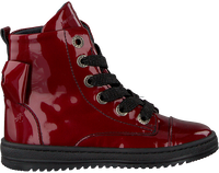 JOCHIE & FREAKS Bottines à lacets 19166 en rouge  - medium