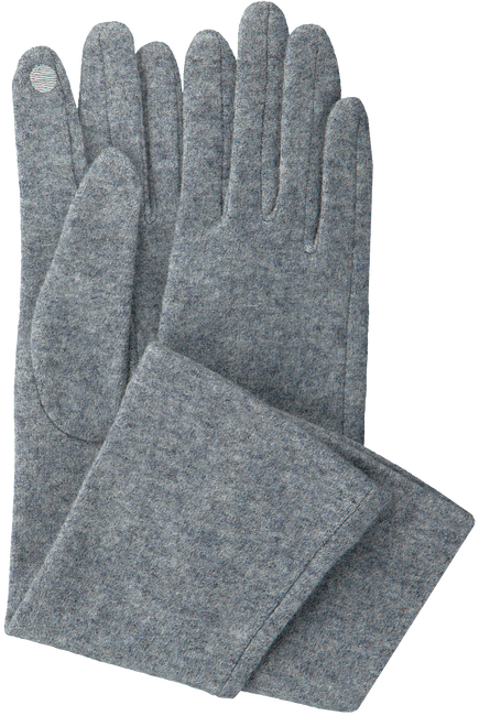 ABOUT ACCESSORIES Gants 4.37.101 en gris - large